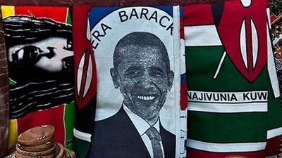 Les Kenyans sont fous d'Obama