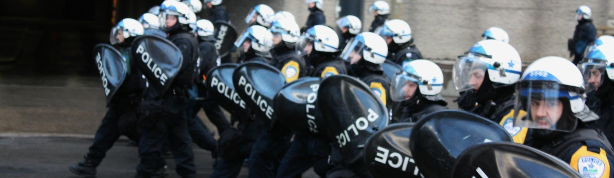 I Got Arrested at an Anti-Police Brutality Protest in Montreal
