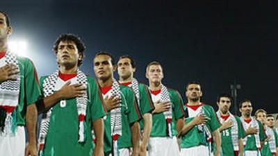 El futbol también lucha por lograr un estado palestino
