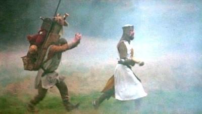 Histórias aos pares SWR: cocó e Monty Python