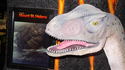 Het Creationismemuseum in San Diego heeft me bekeerd! Grapje, het was kut.