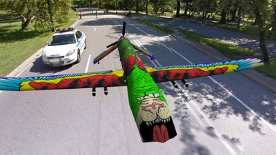Chiar şi dronele malefice de supraveghere pot fi artistice