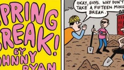 La página de Johnny Ryan: Spring break!