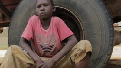 À boleia de camionistas na África ocidental
