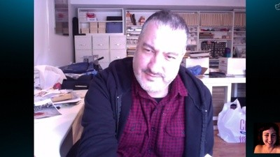 Naked on Skype with Spencer Tunick