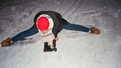 Şi în St. Petersburg oamenii se dau cu skate-ul