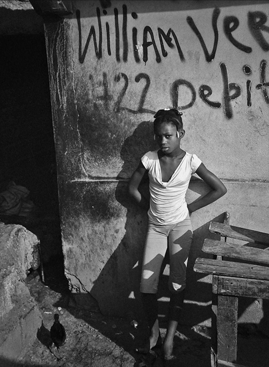 ¿Te acuerdas de Haití? Giles Clarke sí