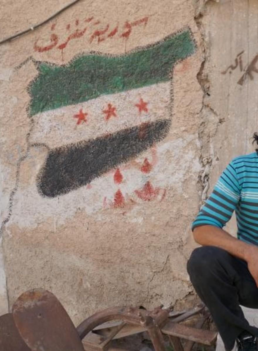 Wenn du wissen willst, was die Syrer denken, lies ihre Graffiti