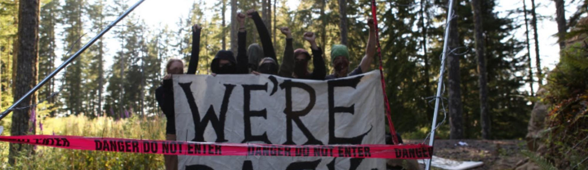 "New Laws Would Make Environmental Protest ""Terrorism"""