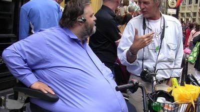 Naar een festival als je 300 kilo weegt