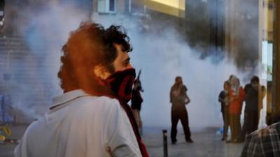 Ik stond in de frontlinie van het antiregeringsprotest in Istanbul