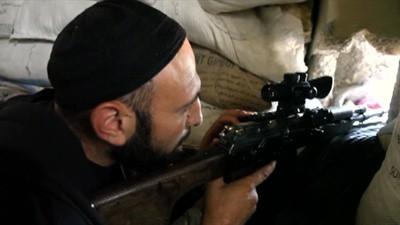 Les snipers d'Alep