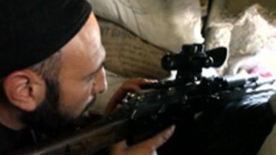 Síria: Os snipers de Aleppo