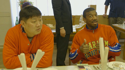 Lunch with the North Korean Basketball Team