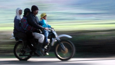 Indonesian Women Have Been Banned from Straddling Motorbikes