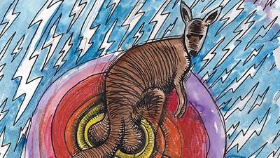 Die Hodensäcke von Kängurus werden knapper—dank Klimawandel