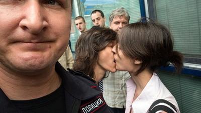 Homo-Propaganda ist in Russland jetzt verboten