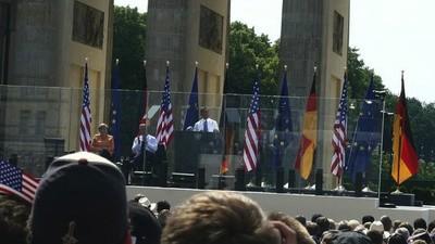 Ich war bei Obama, aber anstelle von hysterischer Obama-Liebe erntete ich nur Sonnenbrand