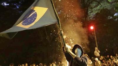 Brazilië schrikt van haar eigen opstand