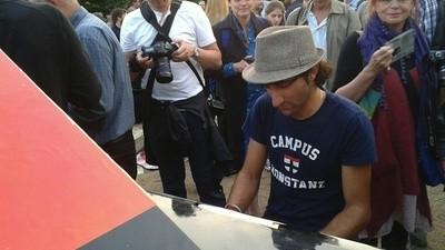 Ohne Gasmaske in Berlin - Klaviersonaten vom Taksim-Platz