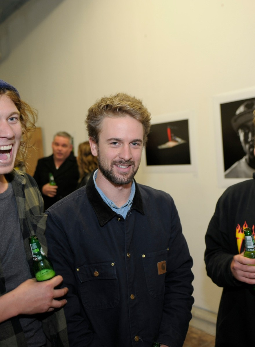 Photos From The Fragile Sticker Exhibition