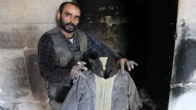 Syrie - Le pillage de la grande mosquée d'Alep