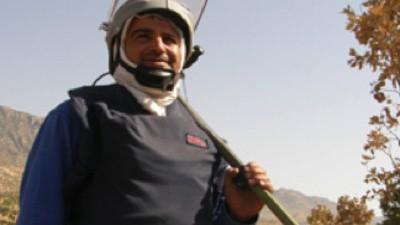 Entrevista con un desactivador de minas