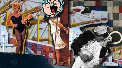 Viajé gratis en un barco de mercancías de Hong Kong a Singapur