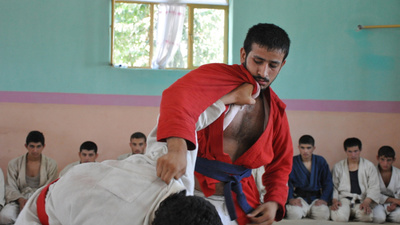 Afghanistan's Combat Sport Makes Peaceful Warriors
