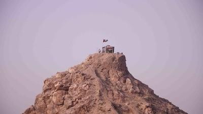 Le grand mur d'ossements d'Afghanistan