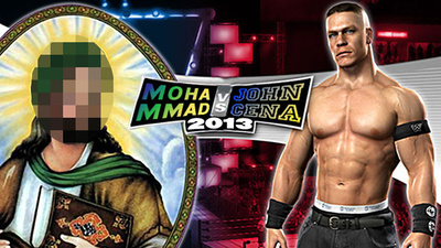The Prophet Muhammad Vs John Cena