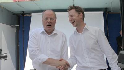 Erkan und Stefan ist jetzt Florian Simbeck: der Sozialdemokrat mit Dauergrinsen