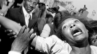 Bruce Gilden es el rey de la fotografía de calle