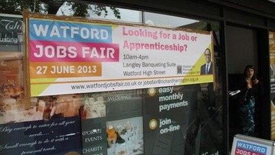 Hanging Out with the Desperate People at Watford Jobs Fair Was Really Depressing