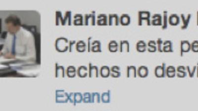Los mejores tuits durante la comparecencia de Rajoy