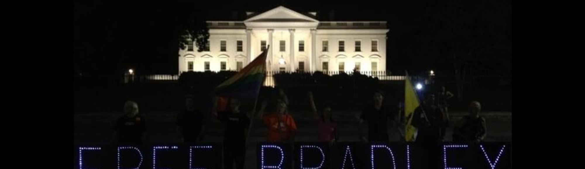Bradley Manning Was Convicted of Espionage, and We Protested at the White House