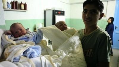 Le plus jeune infirmier d'Alep