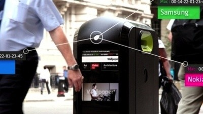 London's New Recycling Bins Will Watch Every Step You Take