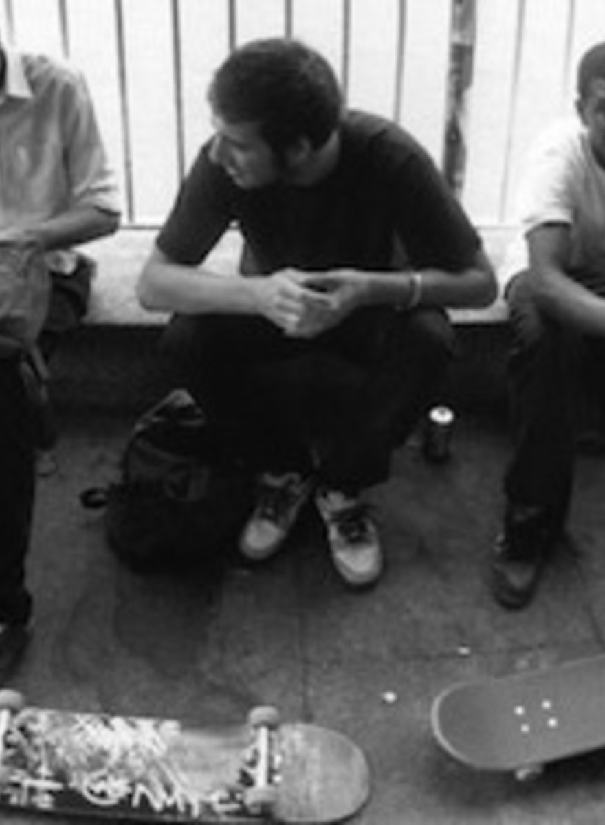 Una década de fotografías del skate park del Southbank