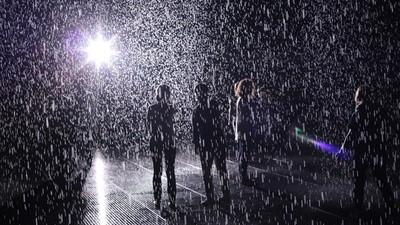 Start Your Wet, Hot Summer at MoMA's Rain Room