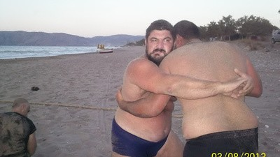 Greek Neo-Nazi Beach Party!