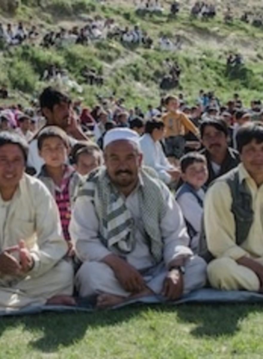 Razende techno en dode geiten-polo op het Silk Road Festival
