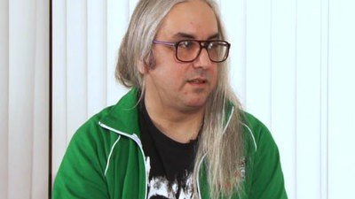 At ATP UK - J Mascis