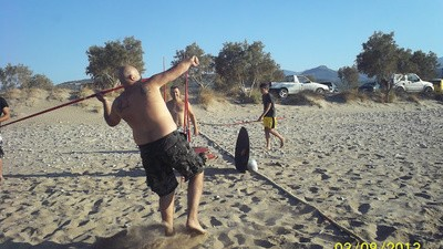 Eine Neonazi-Strandparty auf Kreta