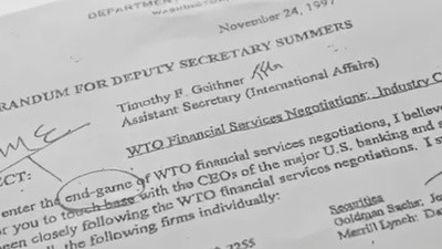 The Confidential Memo at the Heart of the Global Financial Crisis