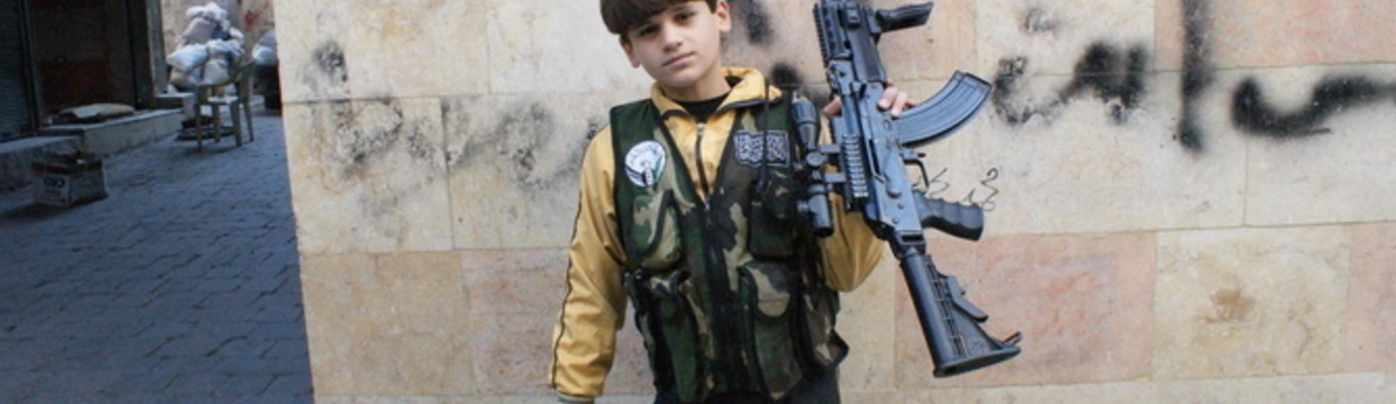 The Little Lion: Syria's 11-Year-Old Killing Machine