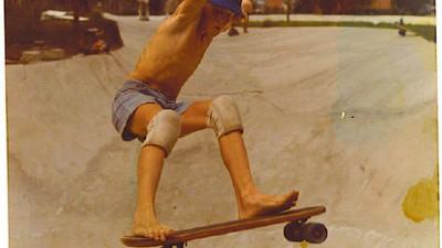 Una línea de tiempo skate