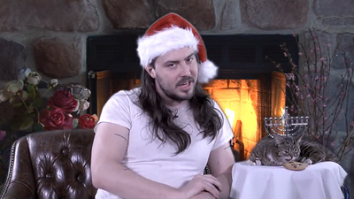 Lil Bub and Andrew WK's Special Holiday Message