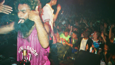 Flatbush Zombies Destroyed London