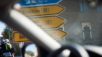 """Auf Achse entlang der """"Heil-Hitler-Straße"""""""